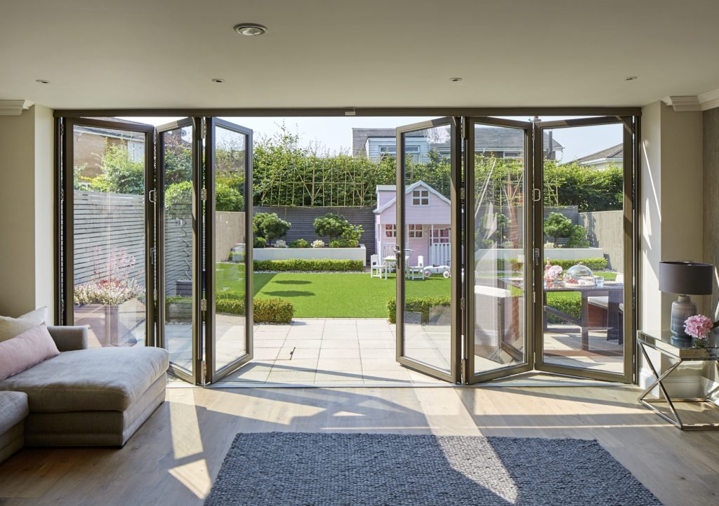 Patio and Bifolding door